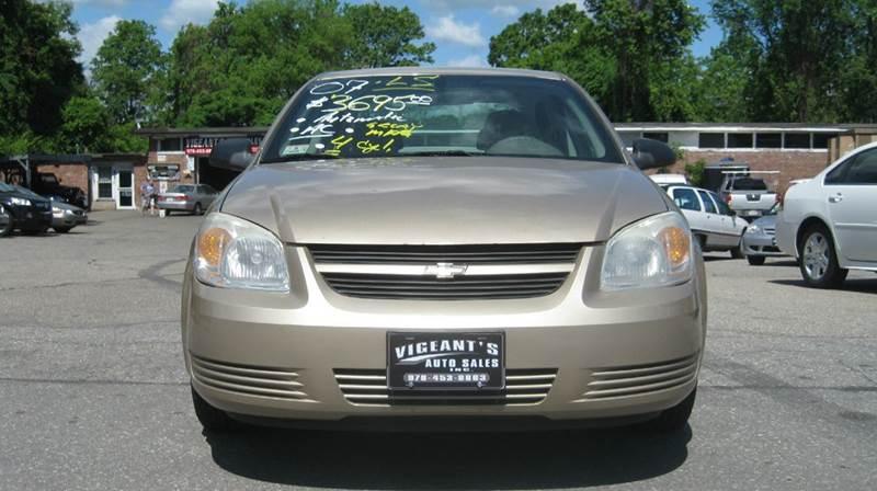 2007 Chevrolet Cobalt LS 4dr Sedan - Lowell MA