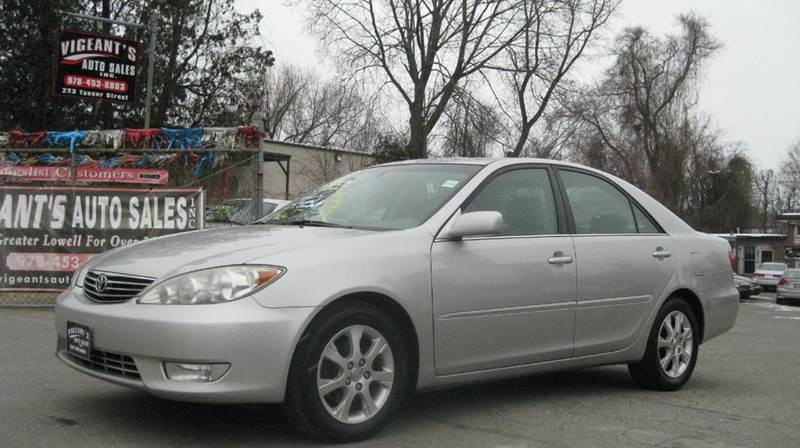 2006 toyota camry xle v6 4dr sedan in lowell ma vigeants auto sales. Black Bedroom Furniture Sets. Home Design Ideas