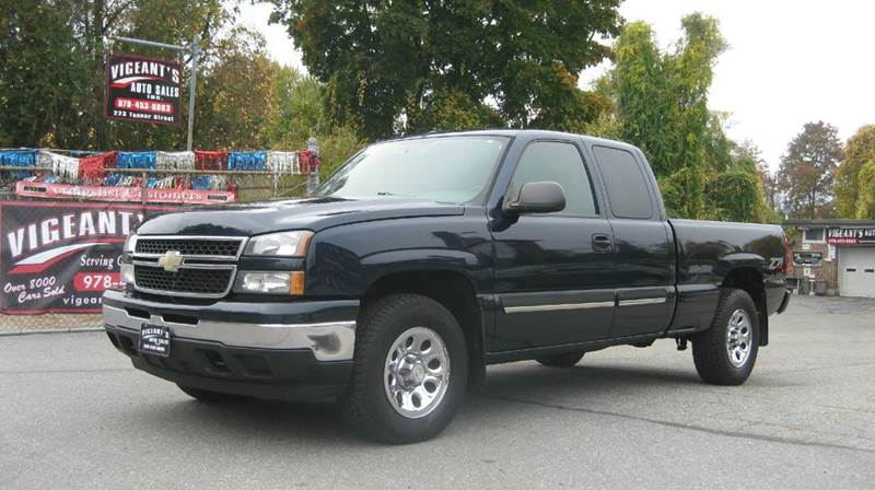 2007 chevrolet silverado 1500 classic lt1 4dr extended cab 4wd 6 5 ft sb in lowell ma. Black Bedroom Furniture Sets. Home Design Ideas