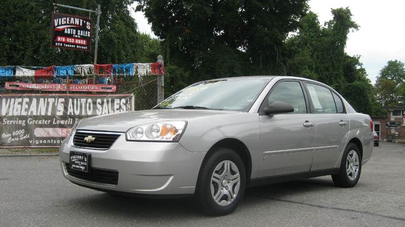 2007 chevrolet malibu ls 4dr sedan in lowell ma vigeants. Black Bedroom Furniture Sets. Home Design Ideas