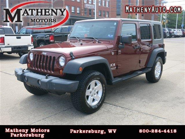 2007 Jeep Wrangler Unlimited X 4dr Suv 4wd In Parkersburg