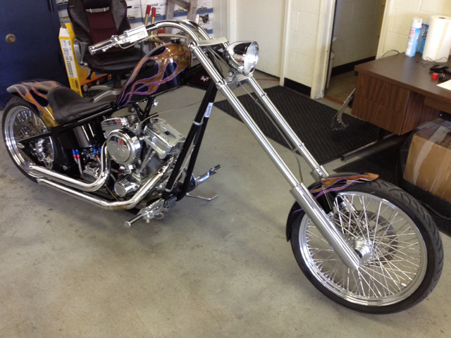 2005 Assembled  Chopper