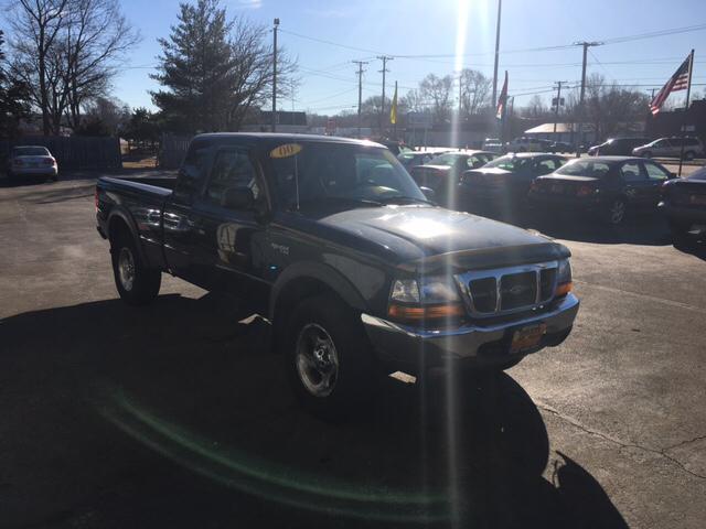 2000 Ford Ranger XLT 2dr 4WD Extended Cab SB - Loves Park IL