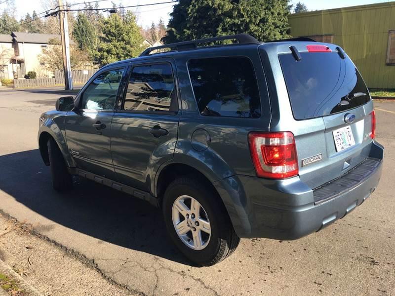 2012 Ford Escape Hybrid Base AWD 4dr SUV - Portland OR
