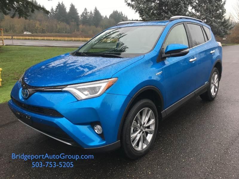 2017 Toyota RAV4 Hybrid AWD Limited 4dr SUV - Portland OR