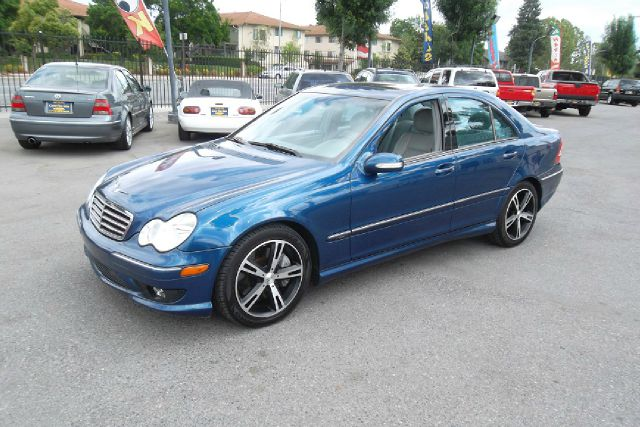 2005 MERCEDES-BENZ C-CLASS C230 K SPORT SEDAN blue -this is a truly clean and original vehicle wit