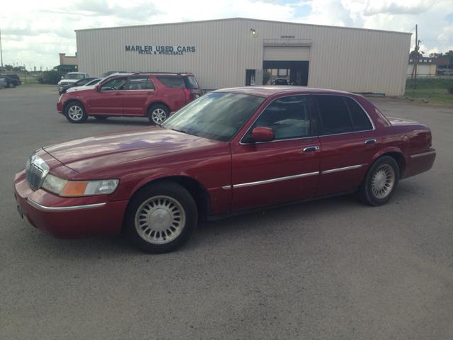 1999 mercury grand marquis ls 4dr sedan in gainesville tx marler used cars. Black Bedroom Furniture Sets. Home Design Ideas