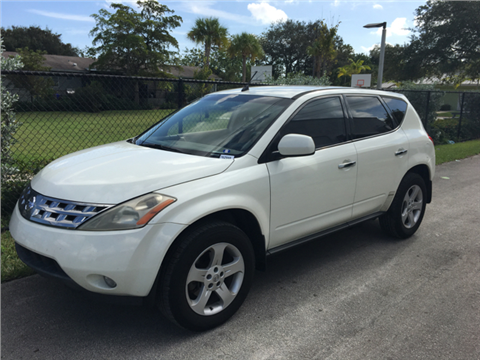 2004 Nissan Murano for sale in Hollywood, FL