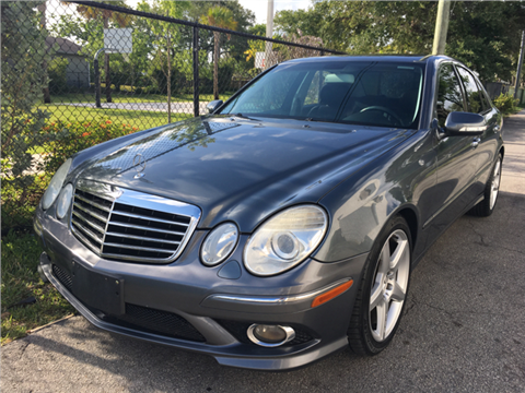 2009 Mercedes-Benz E-Class for sale in Hollywood, FL