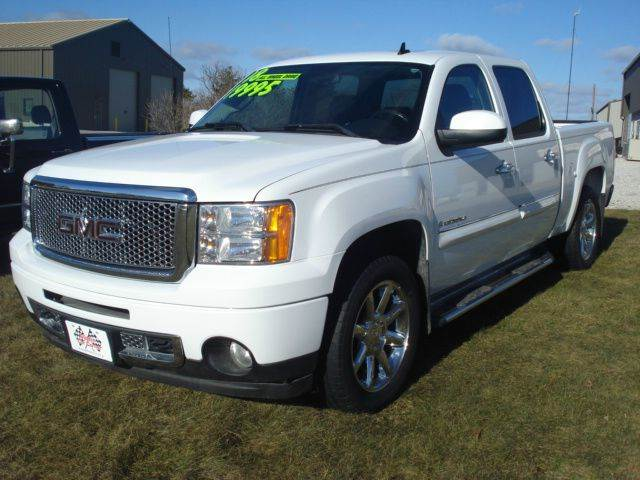 2008 gmc sierra 1500 4wd denali 4dr crew cab 5 8 ft sb in. Black Bedroom Furniture Sets. Home Design Ideas