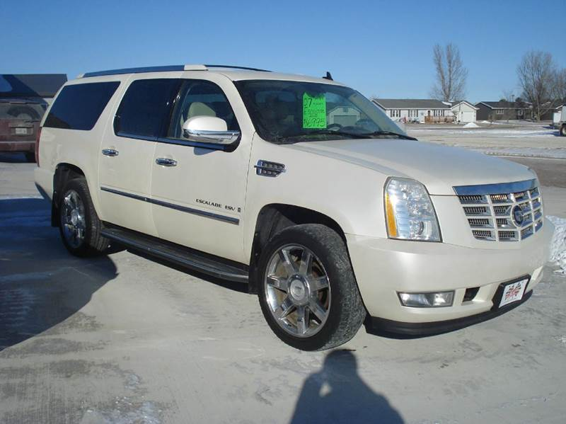 2007 Cadillac Escalade Esv Base Awd 4dr Suv In Glidden Ia Rhgliddencarcorner: 2007 Cadillac Escalade Air Ride Pressor Location At Elf-jo.com