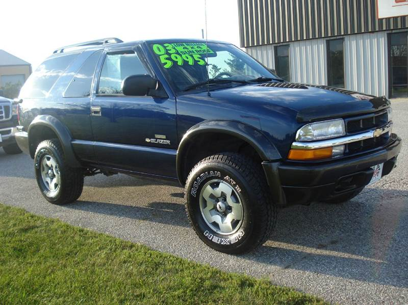 2003 chevrolet blazer ls zr2 4wd 2dr suv in glidden ia. Black Bedroom Furniture Sets. Home Design Ideas