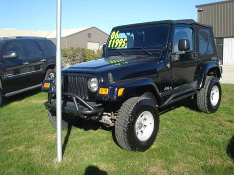 2006 Jeep Wrangler for sale in Glidden, IA