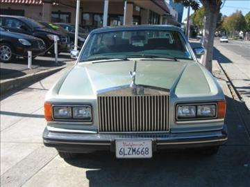 1986 Rolls-Royce Silver Spur