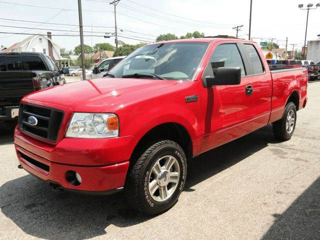 2008 ford f 150 stx 4x4 4dr supercab all power options alloy wheels clean truck in woodbridge nj. Black Bedroom Furniture Sets. Home Design Ideas