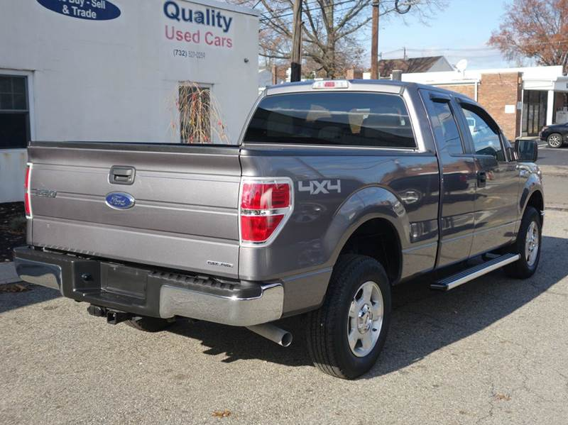 2014 Ford F150 4x4 XLT 4dr SuperCab Styleside 65 ft SB In