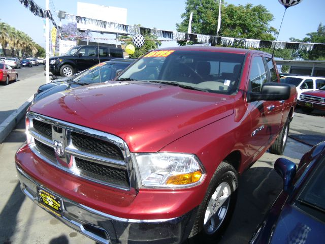 2011 DODGE RAM 1500 SLT QUAD CAB 4WD red 4wdawdabs brakesair conditioningalloy wheelsamfm ra