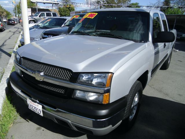 2003 CHEVROLET SILVERADO 1500 Z71 EXT CAB SHORT BED 4WD silver 4wdawdabs brakesair conditionin