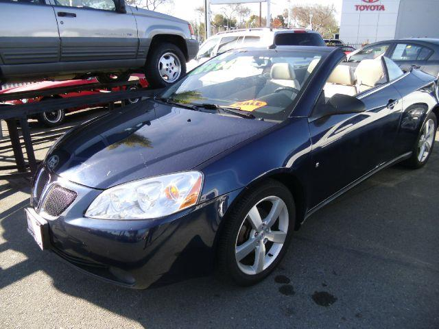 2008 PONTIAC G6 GT CONVERTIBLE blue abs brakesair conditioningalloy wheelsamfm radioanti-brak