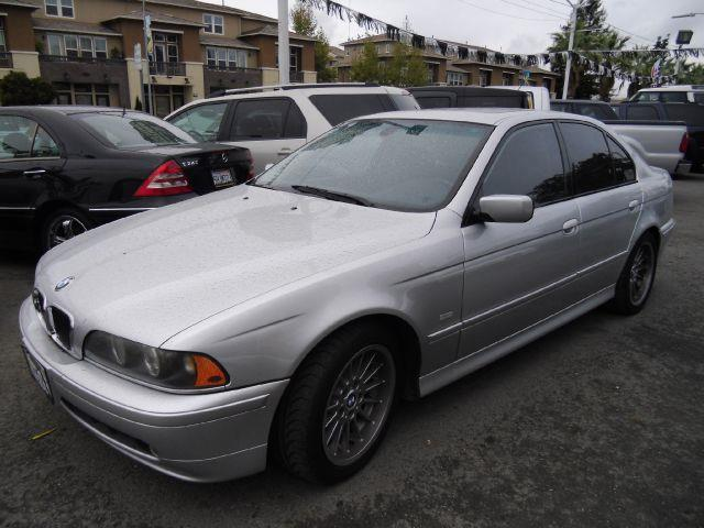 2002 BMW 5 SERIES 540I silver abs brakesair conditioningalloy wheelsamfm radioanti-brake syst