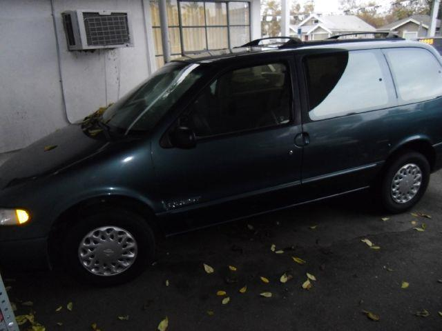 1996 NISSAN QUEST green air conditioningalloy wheelsamfm radioanti-brake system non-abs  4-w