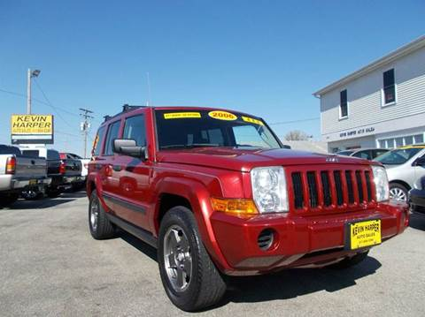2006 Jeep Commander for sale in Mount Zion, IL