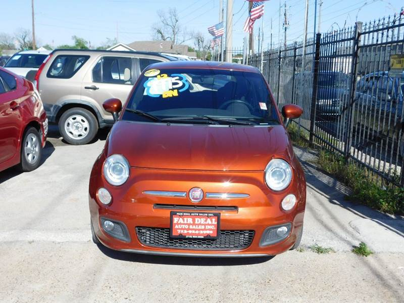 2012 FIAT 500 Sport 2dr Hatchback - Houston TX