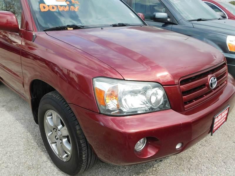 2007 Toyota Highlander AWD 4dr SUV V6 - Houston TX