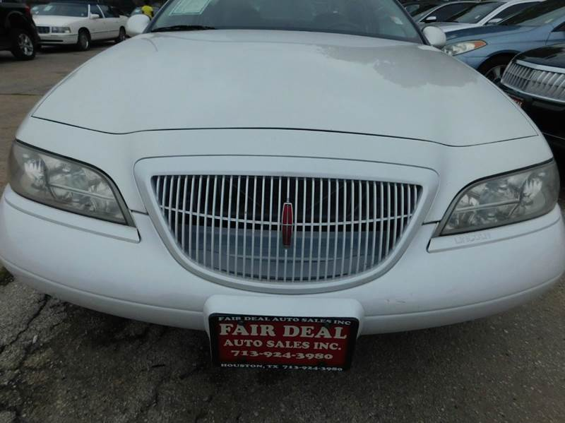 Fair Deal Auto Sales Inc: 1997 Lincoln Mark Viii LSC 2dr Coupe In HOUSTON TX