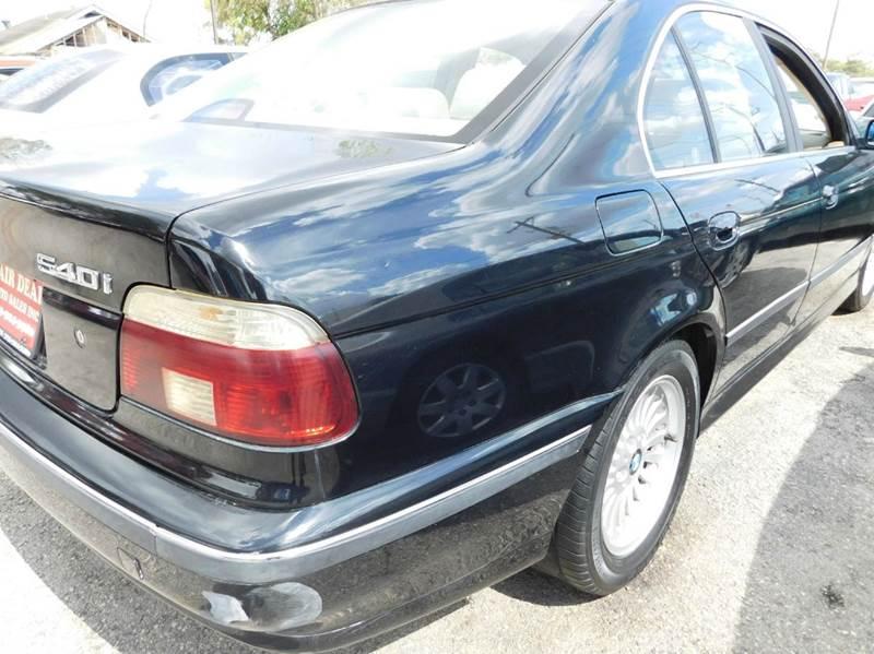 1998 BMW 5 Series 540i 4dr Sedan - Houston TX