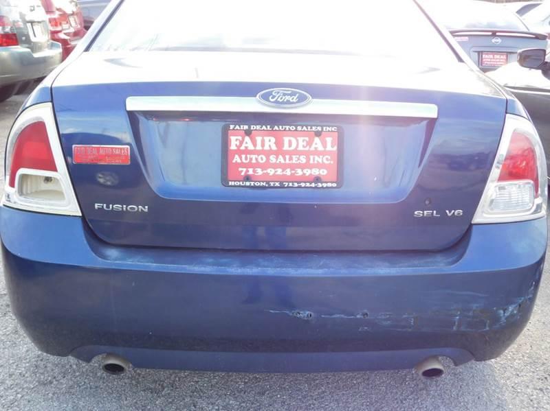 2006 Ford Fusion V6 SEL 4dr Sedan - Houston TX