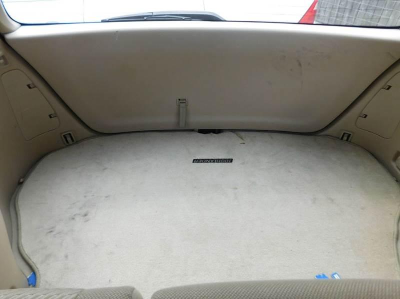 2005 Toyota Highlander Fwd 4dr SUV V6 - Houston TX