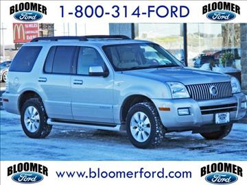 2007 Mercury Mountaineer for sale in Bloomer, WI