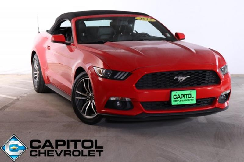 Capitol Chevrolet Austin Tx >> Ford Mustang For Sale in Austin, TX - Carsforsale.com