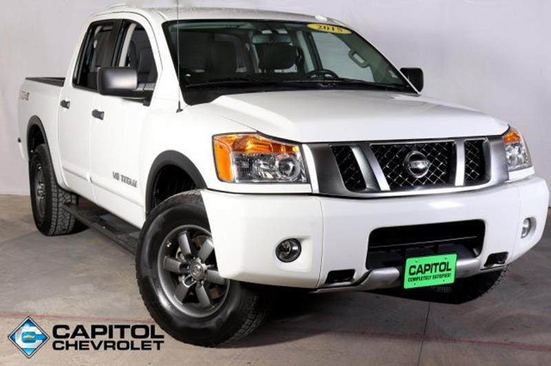 Capitol Chevrolet Austin >> 2015 Nissan Titan For Sale in Sikeston, MO - Carsforsale.com