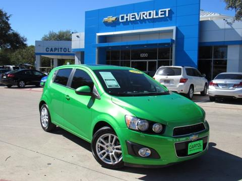 2015 Chevrolet Sonic for sale in Austin, TX