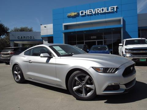 2016 Ford Mustang for sale in Austin, TX
