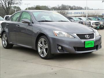 2013 Lexus Is 250 For Sale Carsforsale Com