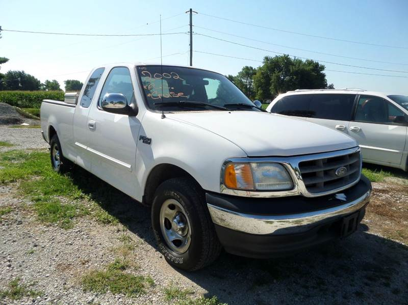2002 ford f 150 4dr supercab xl 2wd styleside sb in boody il carl 39 s auto sales. Black Bedroom Furniture Sets. Home Design Ideas