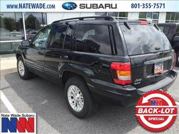 2002 Jeep Grand Cherokee for sale in Salt Lake City, UT