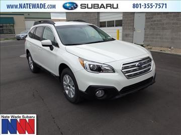 2017 Subaru Outback for sale in Salt Lake City, UT