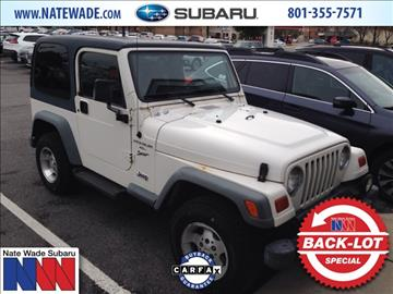 1999 Jeep Wrangler For Sale - Carsforsale.com