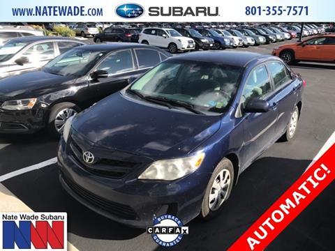 2011 Toyota Corolla for sale in Salt Lake City, UT
