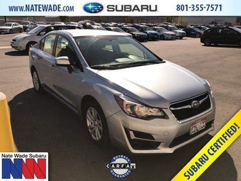 2016 Subaru Impreza for sale in Salt Lake City, UT