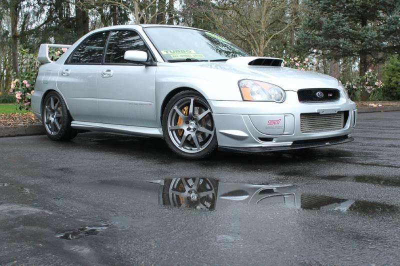 2004 Subaru Impreza WRX STI AWD 4dr Sedan - Hillsboro OR