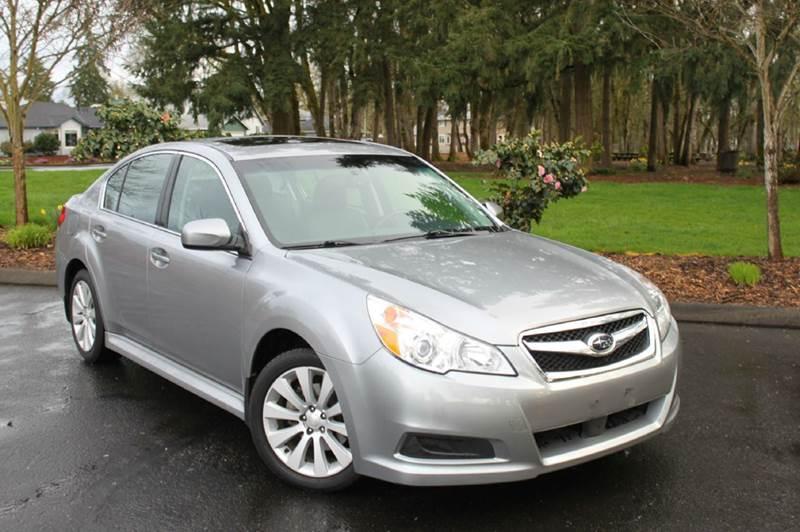2011 Subaru Legacy 2.5i Limited AWD 4dr Sedan CVT - Hillsboro OR