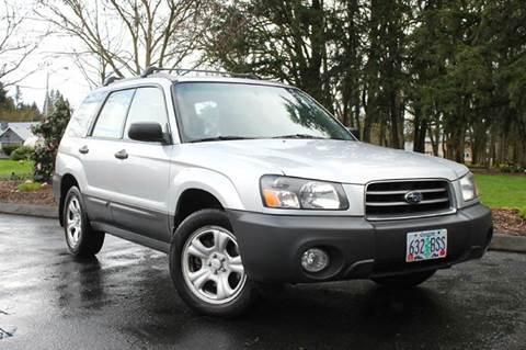 2005 Subaru Forester