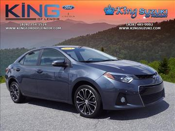 2014 Toyota Corolla for sale in Hickory NC