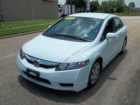 2011 Honda Civic for sale in Houston, TX