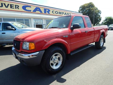 2003 Ford Ranger for sale in Vancouver WA